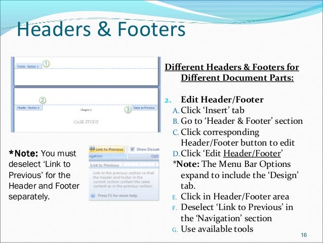 ms word header templates