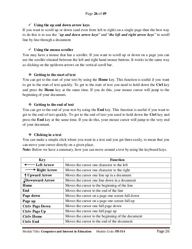 Microsoft office word (part iii)