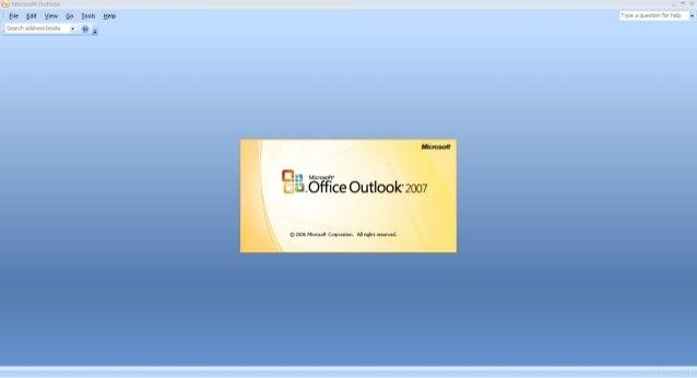Microsoft Outlook 2007 Setup Guide Slide 3