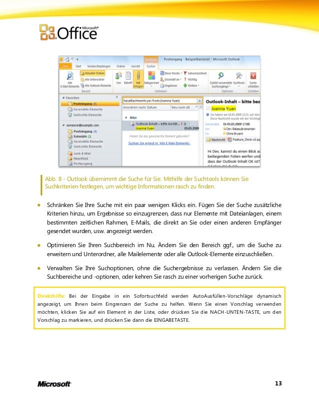 Microsoft Outlook 2010 Product Guide