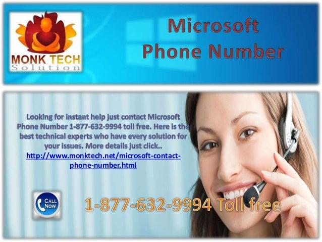 Microsoft phone number !@! 1 877-632-9994 toll free