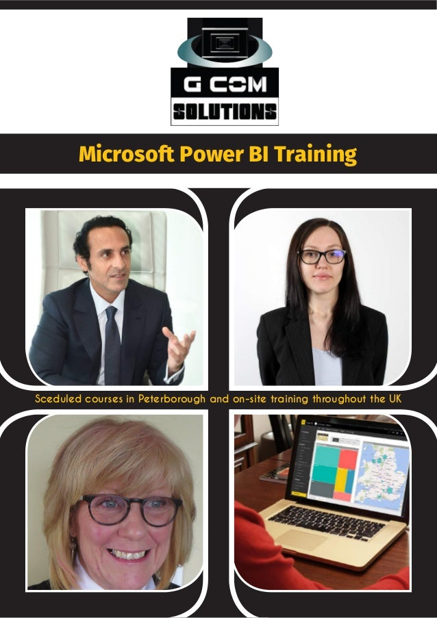 Microsoft Power BI Training Sceduled courses in Peterborough and on-site training throughout the UK