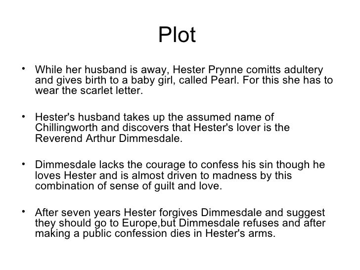 an analysis of adultery and punishment in the scarlet letter For hester, the scarlet letter symbolizes her adultery and for dimmesdale, it is a reminder of his hidden sin the characters are given different punishments corresponding to their symbolisms hester's punishment is to face the public with her guilt, and dimmesdale has the punishment of hiding his guilt from the public.