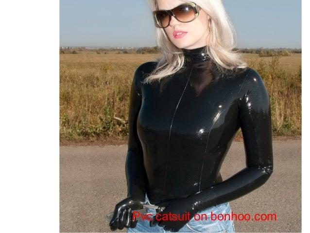 Sexy Pvc Catsuit Lady