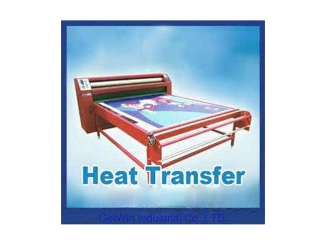 Roll Style Heat Press Transfer Machine(Get Win Industrial Co