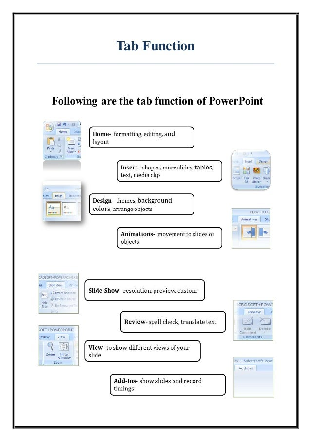 microsoft powerpoint features