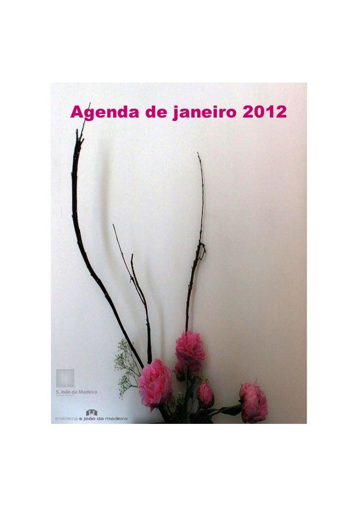 Agenda de janeiro 2012