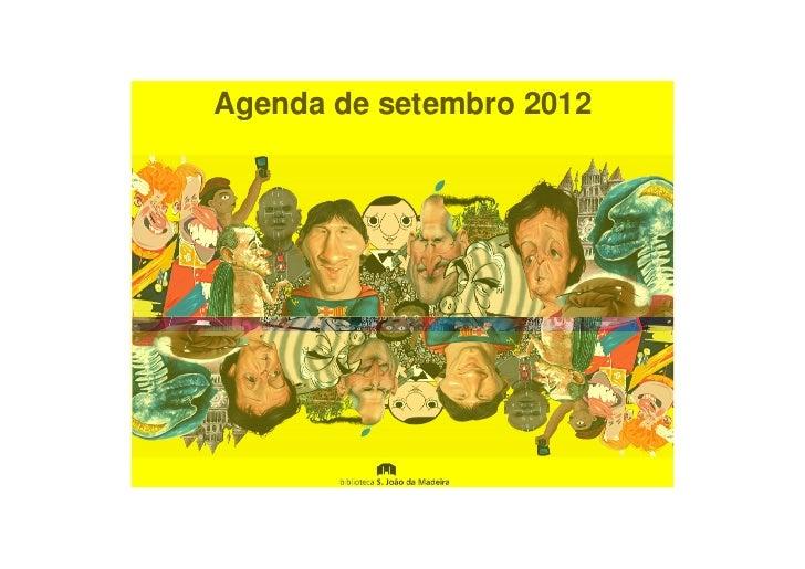 Agenda de setembro 2012