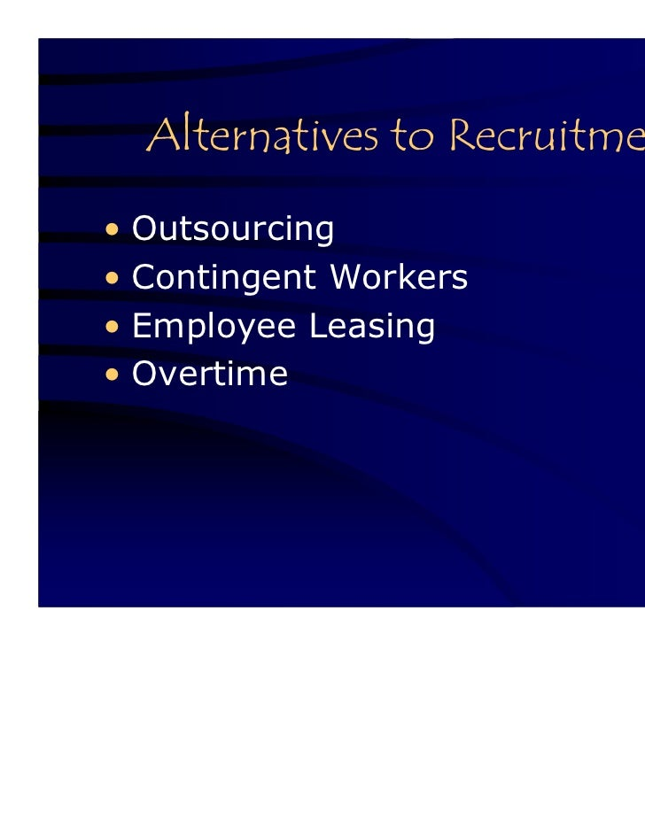 The benefits of employee leasing and outsourcing