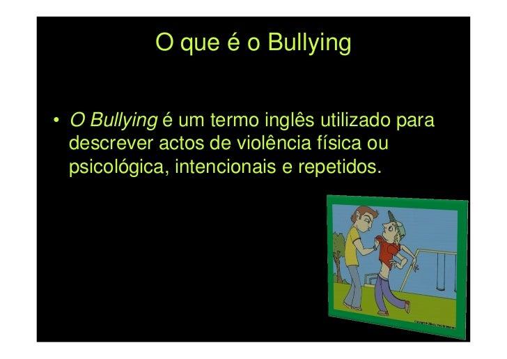 Microsoft Power Point   Bullying Slide 2