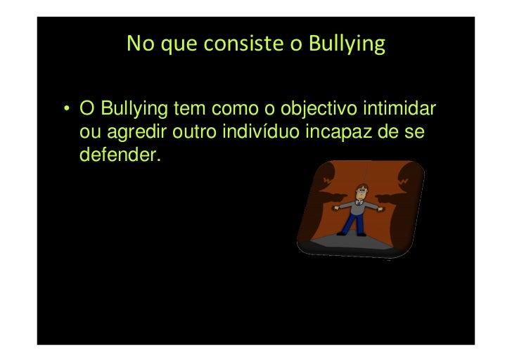 Microsoft Power Point   Bullying Slide 3