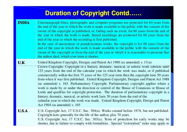 an analysis of the copyright laws of canada Not surprisingly, as more than ten years have passed since the time of the 1997 amendments, and in view of consumers' avid consumption of digital materials today, canada's copyright laws often appear out of step with the ways everyday canadians use copyright materials.