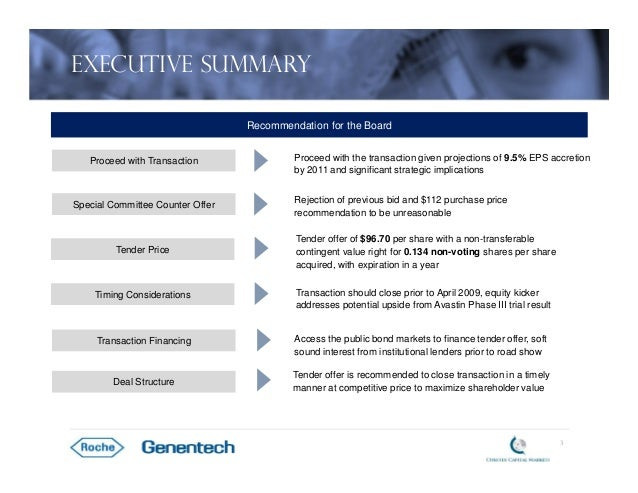 roche s acquisition of genentech Genentech, inc, is a biotechnology corporation which became a subsidiary of  roche in 2009  keep more of the revenue in march 2009 roche acquired  genentech by buying shares it didn't already control for approximately $468  billion.