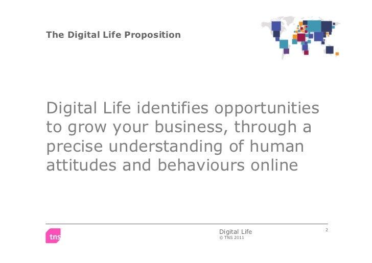 TNS Digital Life 2011- Worldwide study on online consumer behaviour Slide 2