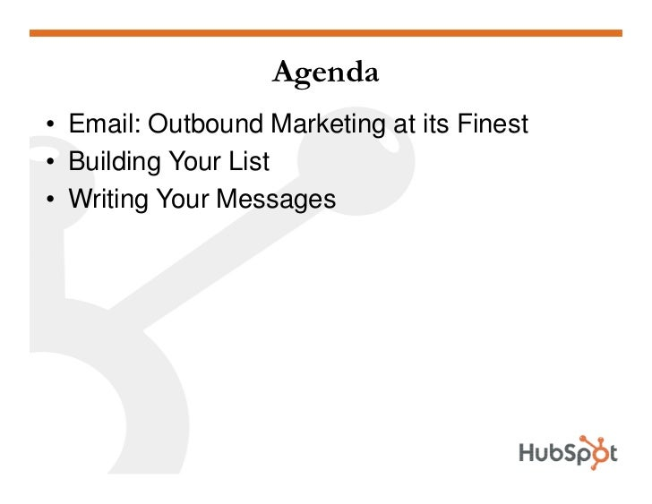 Email Marketing HubSpot May 2009 Slide 2