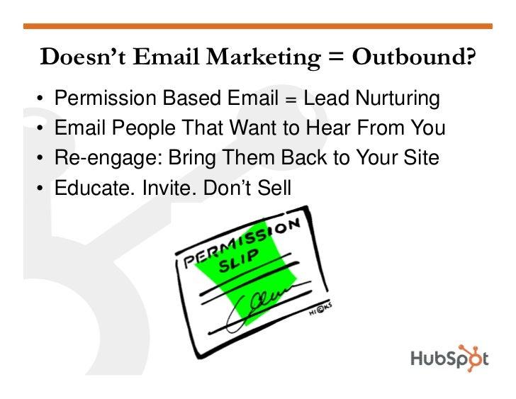 Email Marketing HubSpot May 2009 Slide 3