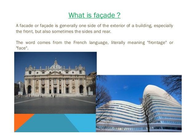 Facade - presentation