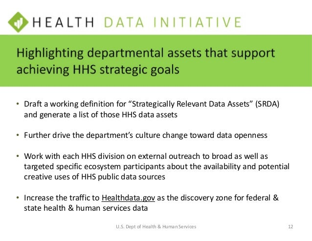 • Continue to publicize the availability of the data and draw attention to uses of the data in the transformation of healt...