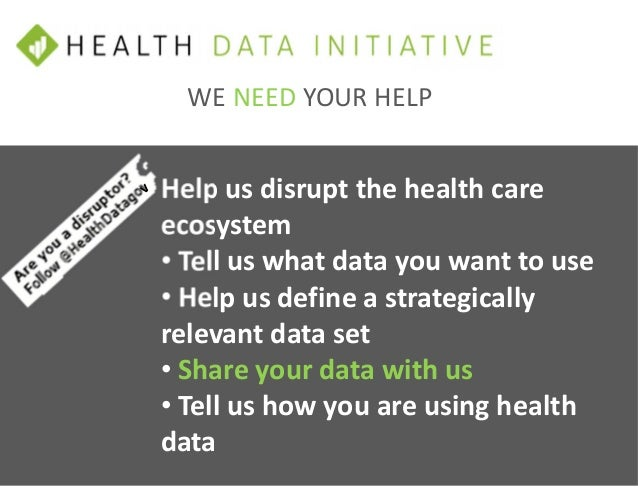 The HHS Health Data Initiative (HDI) Strategy & Execution Plan with Damon Davis