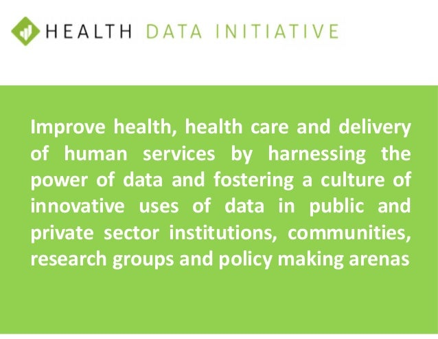 OPEN DATA EXECUTION PLAN 5 GOALS: Advancing HealthData.gov site Highlighting departmental assets that support achieving HH...