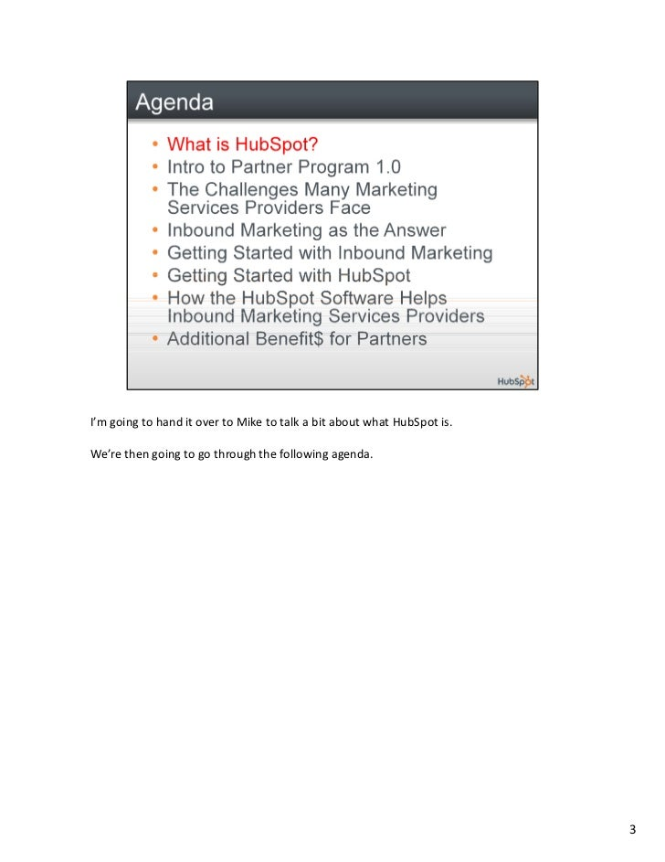HubSpot Partner Program Launch Webinar Slide 3