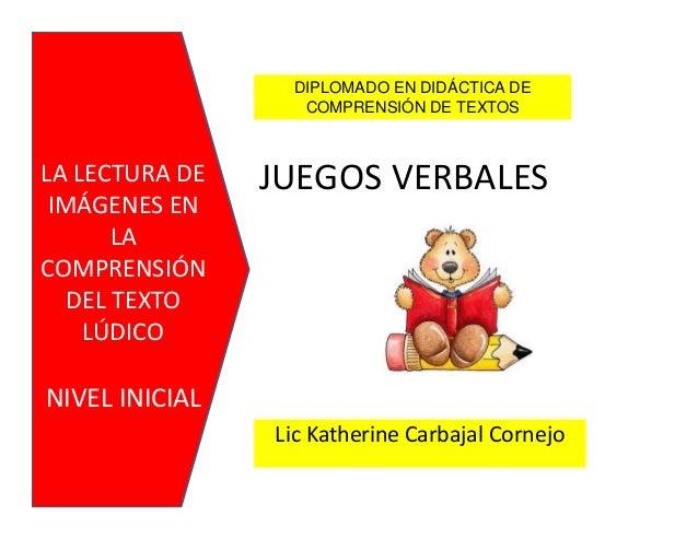 JUEGOS VERBALES