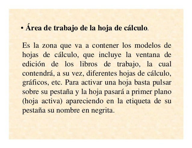 Microsoft power point la hoja de calculo excel-pdf