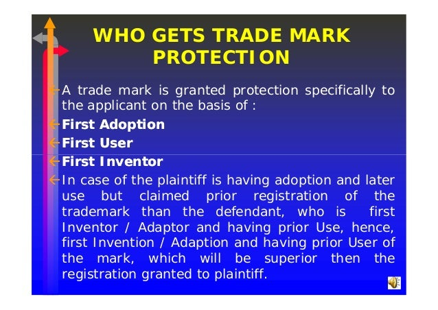 Microsoft Power Point Law Of Trademarks For Ili Ipr Diploma In Tra