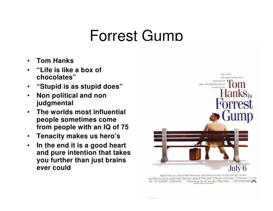 Leadership The Hollywood Way – Forrest Gump Worksheet