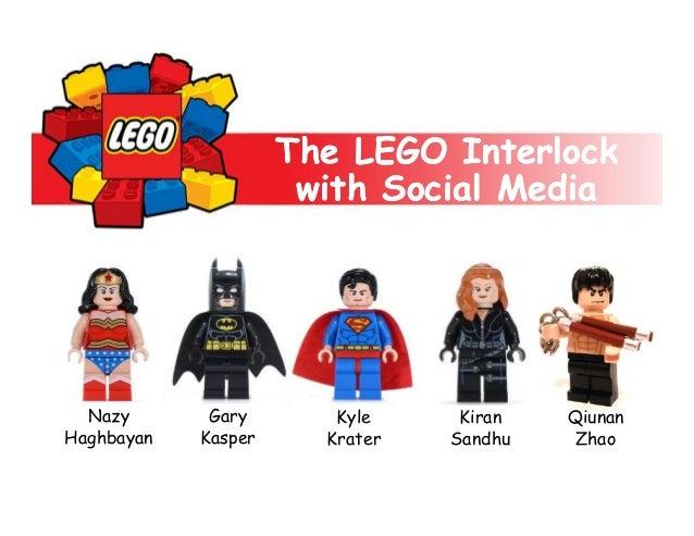 The LEGO Interlock with Social Media  Nazy Haghbayan  Gary Kasper  Kyle Krater  Kiran Sandhu  Qiunan Zhao