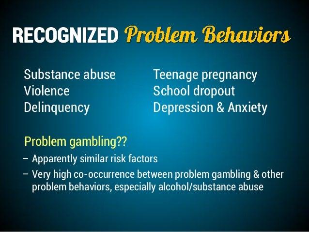 Gambling prevention curriculum causes gambling addiction