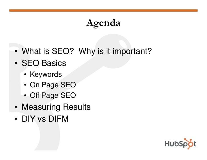 SEO 101 HubSpot May 2009 Slide 2