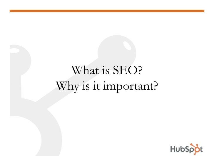 SEO 101 HubSpot May 2009 Slide 3
