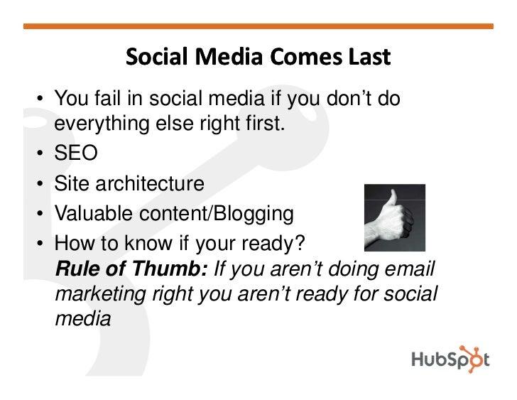 Social Media Workshop HubSpot May 2009 Slide 2