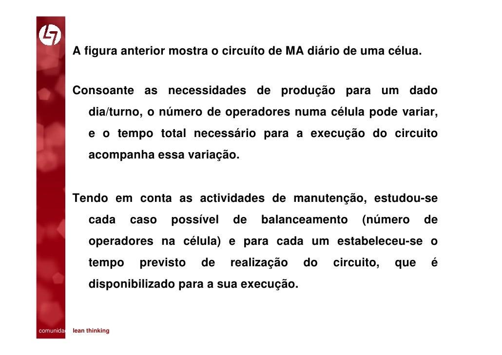 A figura anterior mostra o circuíto de MA diário de uma célua.              Consoante as necessidades de produção para um ...