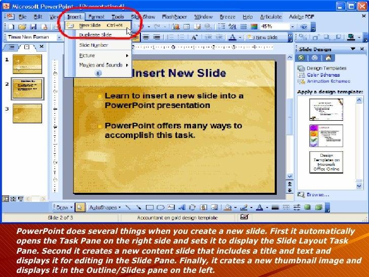 Microsoft powerpoint 2003 powerpoint does several things when you create toneelgroepblik