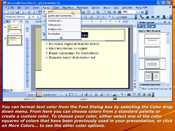 Microsoft powerpoint 2003 68 toneelgroepblik Images