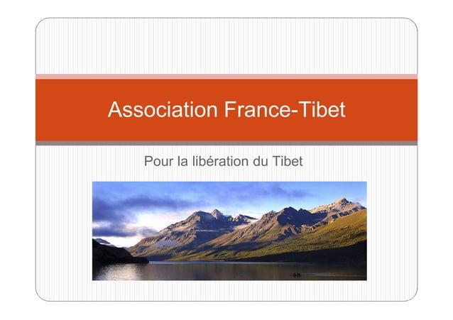 Association France-Tibet Pour la libération du Tibet