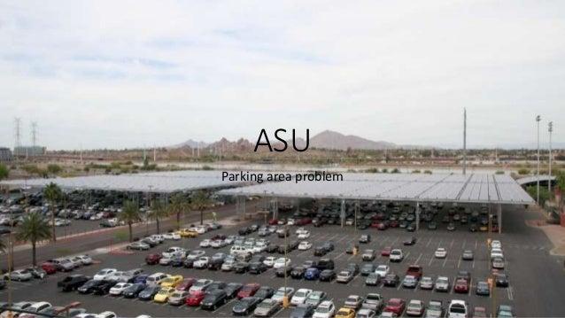 ASU Parking area problem
