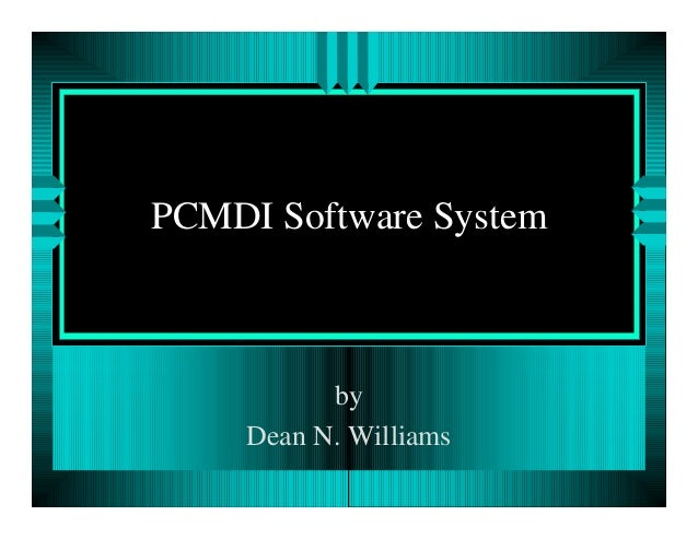 PCMDI Software System  by Dean N. Williams