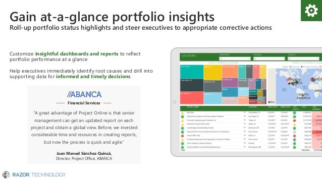 Microsoft Project and Portfolio Management