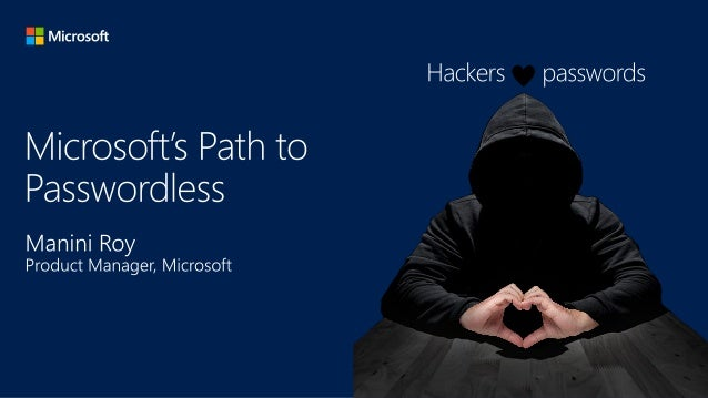 microsoft passwordless