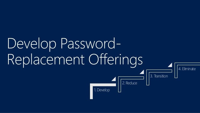 Microsoft's Path to Passwordless - FIDO Authentication for