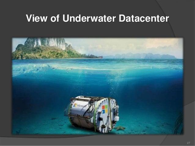 Microsoft S Project Natick Underwater Datacentre