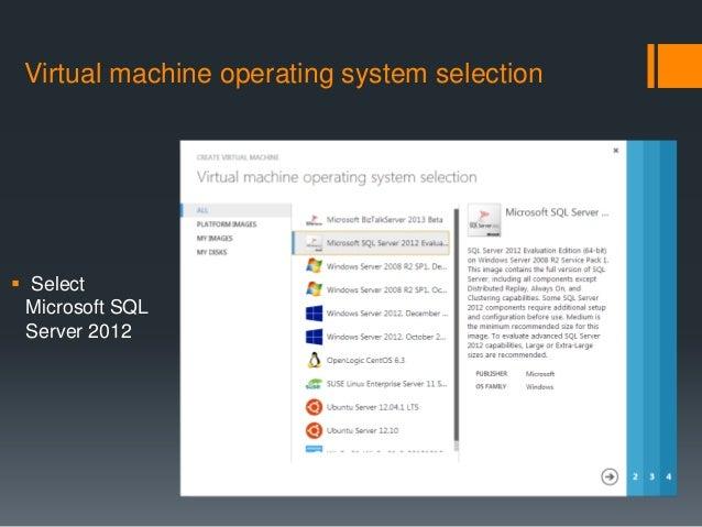 sql server 2012 machine