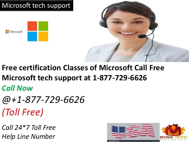 microsoft tech support free certification classes