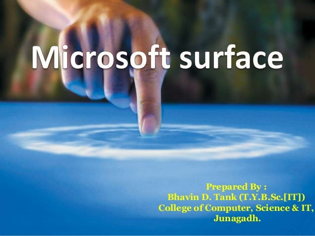 Prepared By : Bhavin D. Tank (T.Y.B.Sc.[IT])College of Computer, Science & IT,            Junagadh.