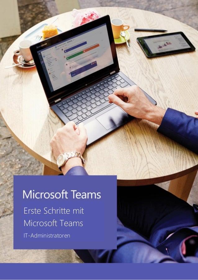 Erste Schritte mit Microsoft Teams IT-Administratoren