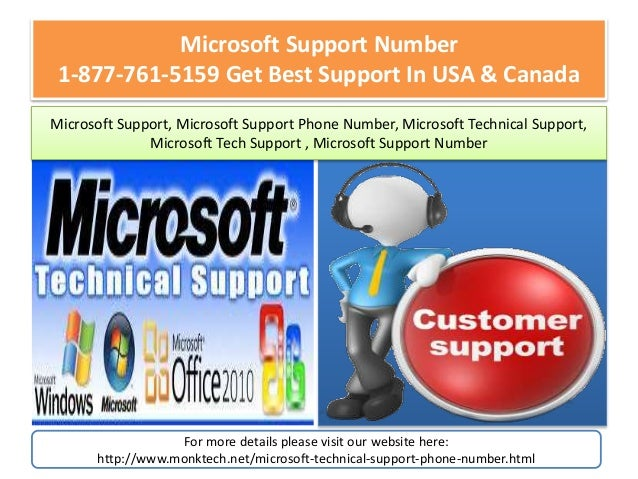 Instant customer Support ? Call Microsoft Technical
