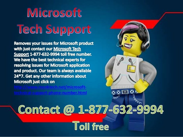 how to call microsoft tech support